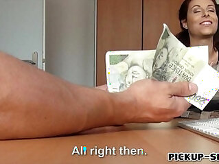 Hot amateur eurobabe antonia sainz screwed for a lot of cash