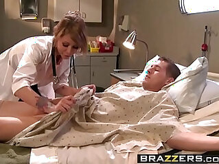 Doctor Adventures The Doctor is In scene starring Monique Alexander and Chris Johnson