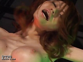 Uncensored Japanese Erotic Fetish Sex Sexy Teen hottie Gets Interviewed on the Castin
