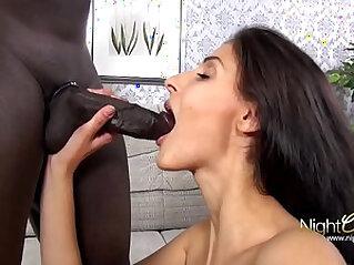 White School Girl Black Cock Outdoor