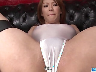 Subtitles Japanese beauty gets his dick in her nice pussy