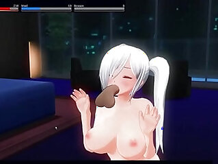 Nakiri Alice love to blow his master Custom Maid 3D
