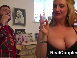 Anal loving busty British housewife