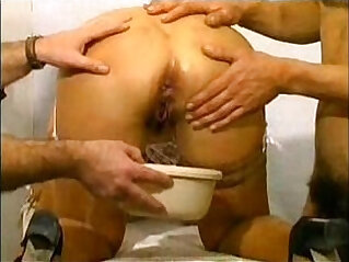 Hot French Milf Enjoys Bizarre Play