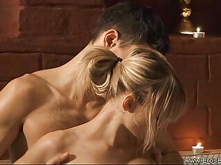 Anal sex scene With a Hot Euro Blonde