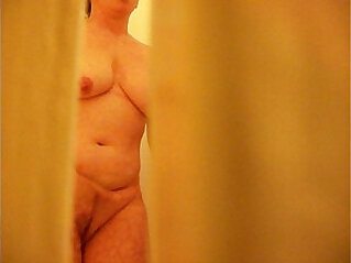 Mom Caught Masturbating in Shower on Hidden cam