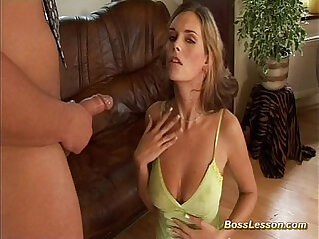 hot cute Whore gets hammered hard anal punished by boss