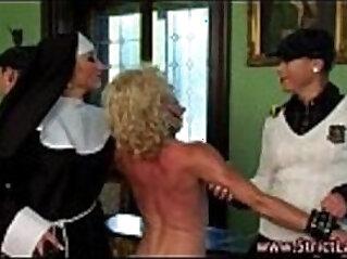 Nasty mistress nun and minions