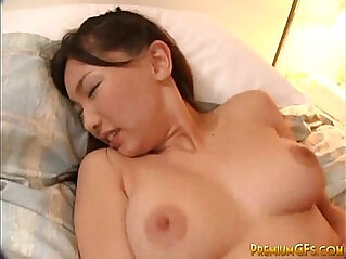 Busty Japanese Cutie Gets Banged And Jizzed
