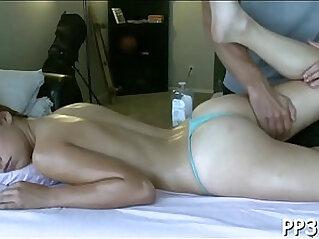 Bewitching massage and fucking