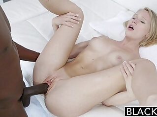 BLACKED Dakota James first hardcore anal experience with Black girl with huge cock