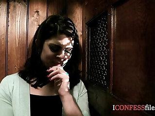 ConfessionFiles British Babe Fucks in Confession Booth