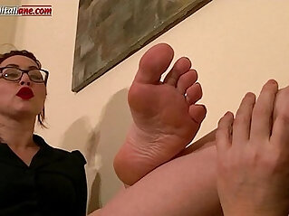 Uncle Asso s Lesson Foot Domination