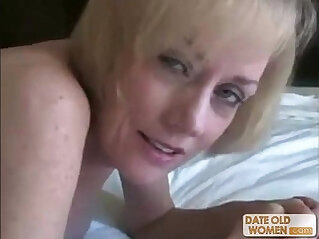 Nasty ass horny granny fucked by young dude