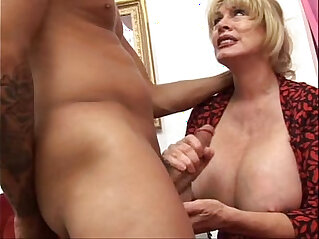 Big Boob Nifty Fifties Five at anal niche