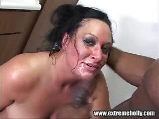 Extreme Holly Chupada Negro