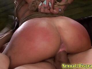 Bondage whore bdsm fucked