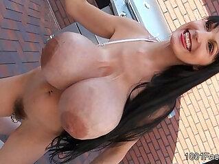 Facials Penelope Black Diamond Bikini milk tits facials