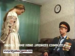 Severe Spanking Punishment for Russian Girls