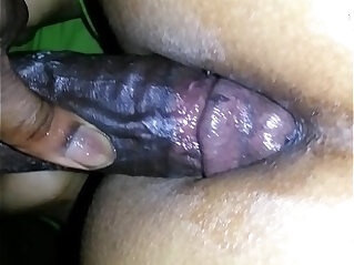 I busted a nut on her phat yellow ass then tried to use the nut to get some anal