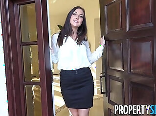 PropertySex Horny real estate agent busted watching porn
