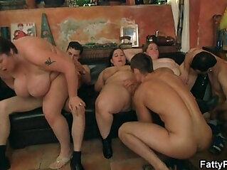 BBW rides cock after blowjob