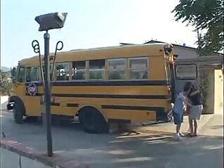 Ashley Blue School Bus Girls