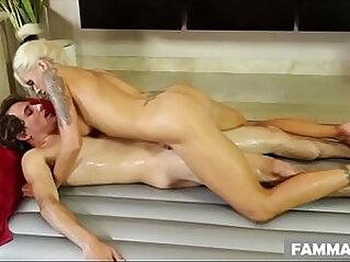 My step mom gives me nuru massage! Nina Elle and Tyler Nixon